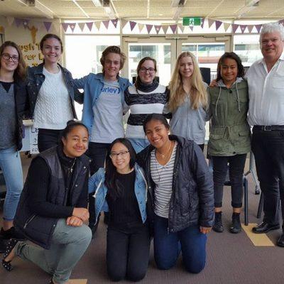 Deacon Anthony's visit to IYCS Australia