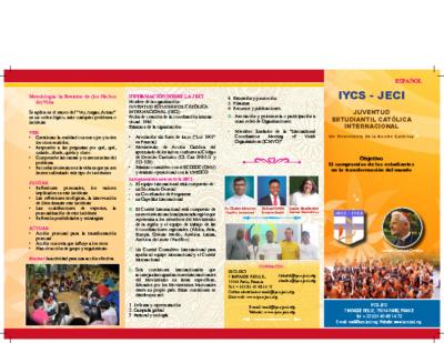 iycs brochure Spanish
